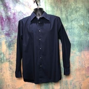GAP Dark Blue Dress Shirt